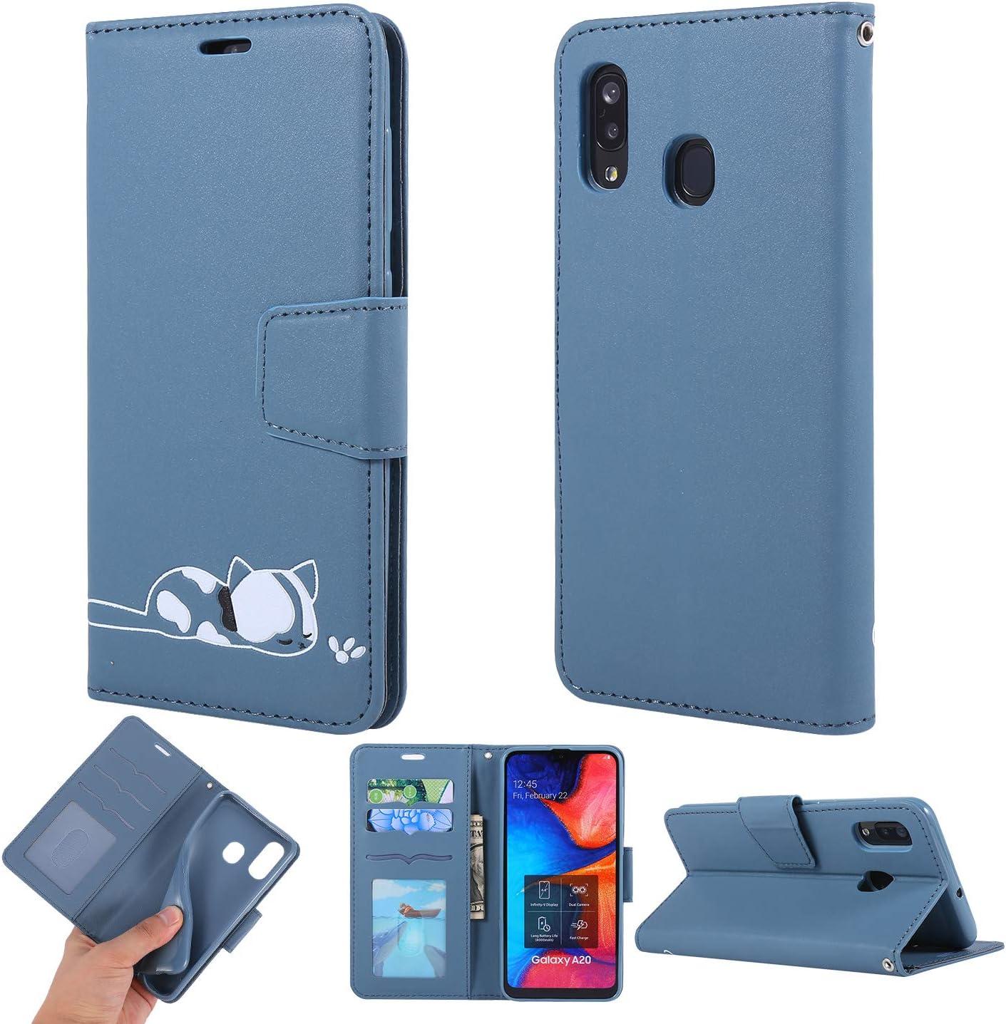 A10-Gr/ün Dclbo H/ülle f/ür Samsung Galaxy M10 A10 Handyh/ülle Handytasche PU Leder Schutzh/ülle Case Flip Tasche mit Kartenfach Handschlaufe Silikon H/ülle Ledertasche f/ür Samsung Galaxy M10