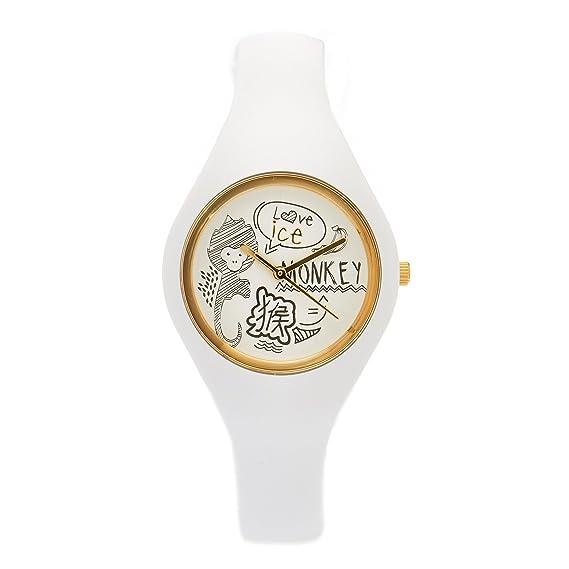 Ice-Watch Unisex Reloj de pulsera Chinese material de silicona analógico de cuarzo caucho Ice