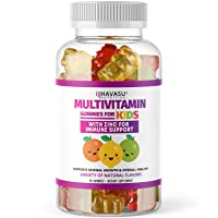 Havasu Nutrition Multivitamin Gummies for Men and Women with Vitamin A, C, D3, E, B6, B12, and Zinc, 60 Count (60 Count, Kids)