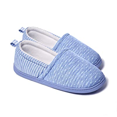 Amazon.com | ChicNChic Women Comfortable Anti-Slip Home Slippers Soft Sole Indoor Outdoor House Shoes | Slippers