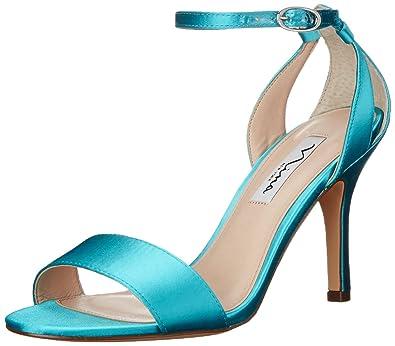 Nina Women's Venetia Dress Sandal, YS/Cielo, 7 M US