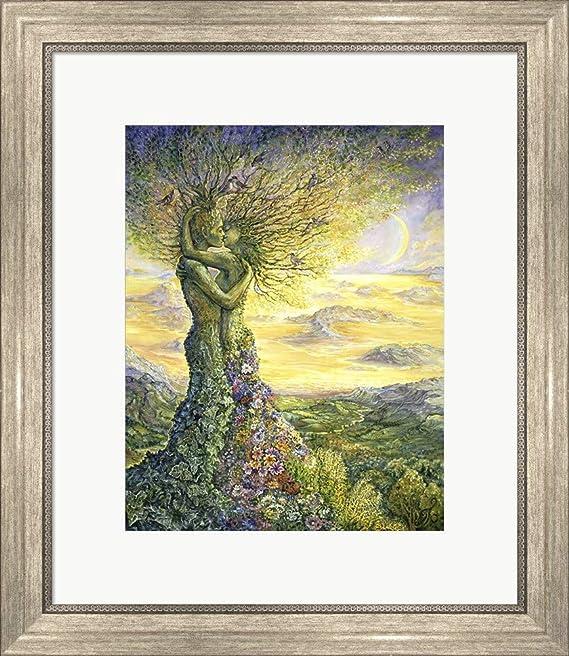 c435a1ae9e41 Amazon.com  Nature s Embrace by Josephine Wall Art Print