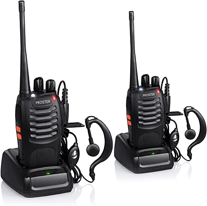 Proster Walkie Talkie Recargables