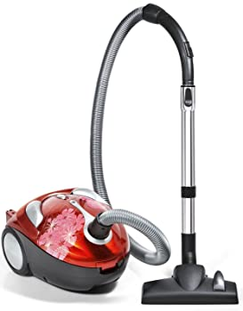 Dirt Devil Tattoo Crimson Bouquet Bagged Canister Vacuum, SD30040BB