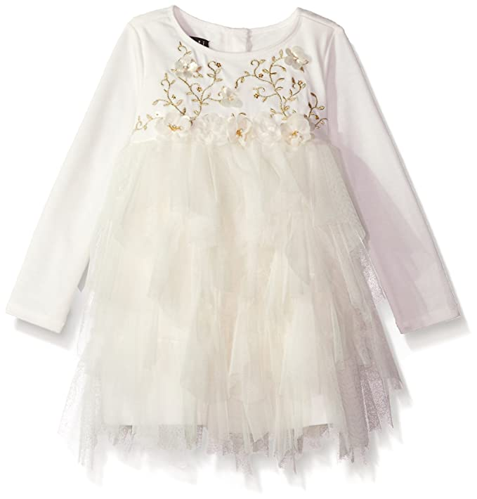 47e39da6fcf6 Biscotti Toddler Girls Modern Maiden Dress, Ivory, 2T: Amazon.ca ...