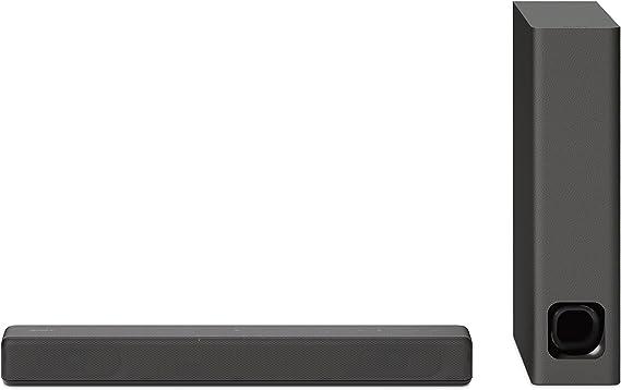 Sony Ht Mt300 Kompakte Soundbar 100w Kabelloser Subwoofer Bluetooth Nfc Usb Anthrazit Heimkino Tv Video