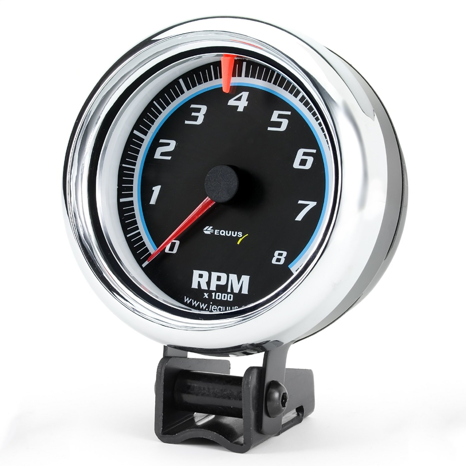 Equus 6076 Chrome Tachometer - Measures 2 1/2-Inches KEYU1
