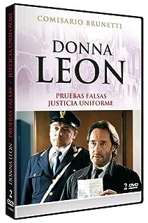 Donna Leon: Pruebas Falsas + Justicia Uniforme (Beweise, dass es böse ist +  Verschwiegene Kanäle) 2005 [DVD]