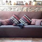 Casa Textil - Fundas de Sofa, Tela, Gris, Tres Plazas