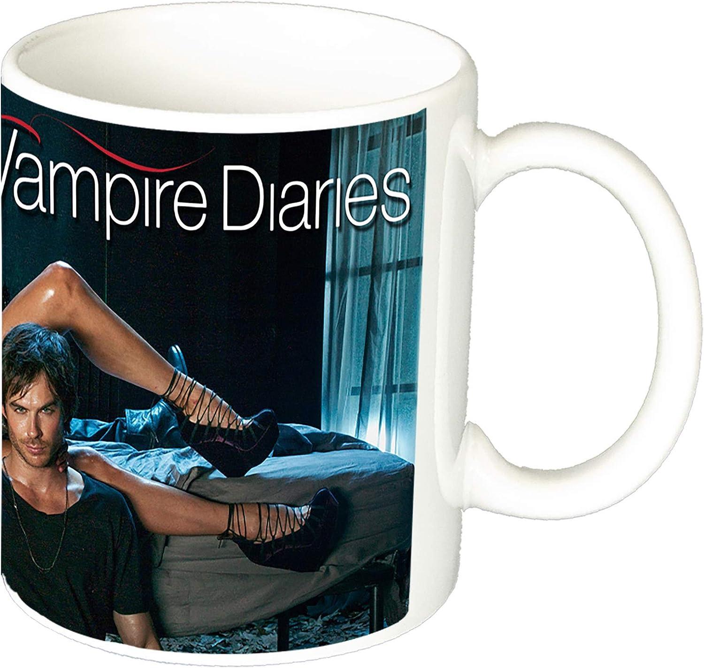 MasTazas Cronicas Vampiricas The Vampire Diaries Nina Dobrev Ian Somerhalder Paul Wesley Taza Ceramica