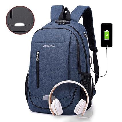 5942fc75ff21 Amazon.com  Leegoal Anti Theft Laptop Backpack