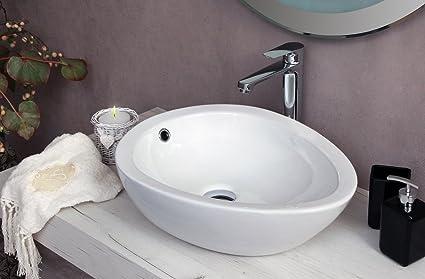 Yellowshop lavabo da appoggio cm 50 x 39 bacinella lavandino