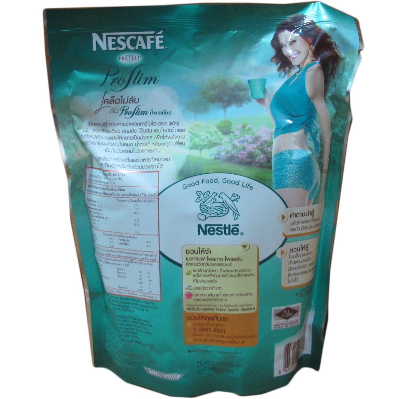 3 X Nescafe Protect Proslim Pro Slim Diet Slimming Weight Control Coffee 10 Sticks by NISAKORN