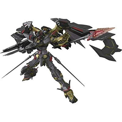 Bandai 5055460 Mbf-P01-Re2#24 Gundam Astray Gold Frame Amatsu Mina Rg Model Kit, from Gundam Seed Astray: Toys & Games