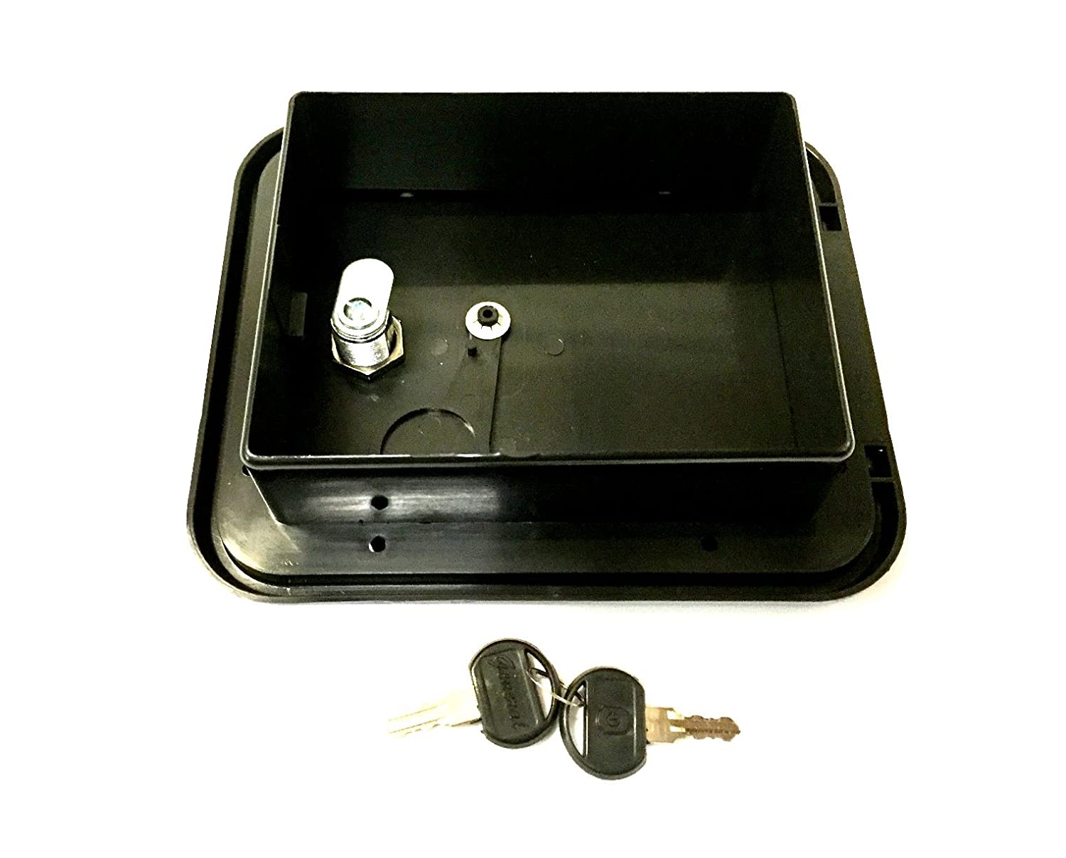 Valterra Black Electric Power Cord Cable Hatch Compartment Lock Keys