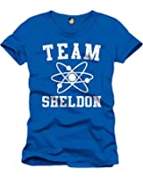 The Big Bang Theory - Team Sheldon T-Shirt - Blue