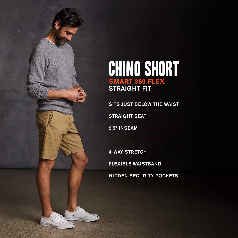 b78dcda22bf5 Dockers Men's Straight Fit Chino Smart 360 Flex Shorts at Amazon Men's  Clothing store: