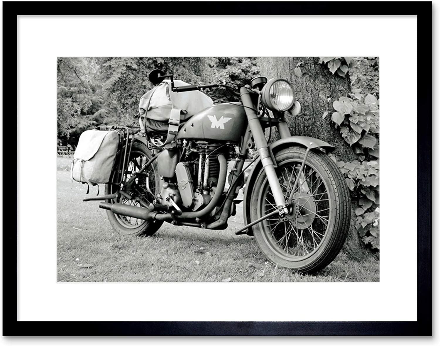 CULTURAL MILITARY TRANSPORT MOTOR CYCLE ARMY USA POSTER ART PRINT PICTURE BB844A