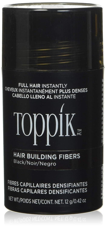 Toppik Fibras Capilares De Queratina Natural (Color Negro) - 12 g ...