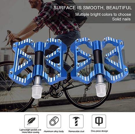 Zerone Pedal de Bicicleta Pedales de cojinete de aleación de ...