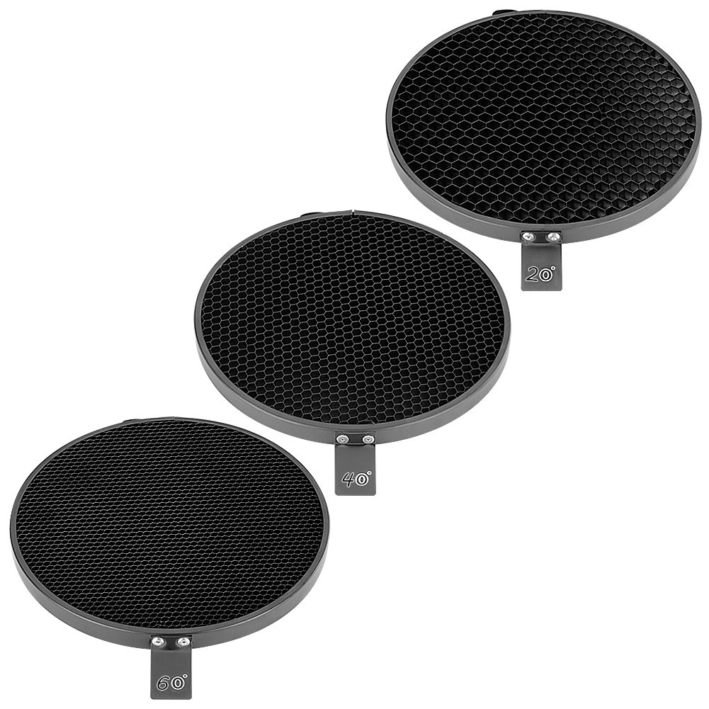 Neewer 7inch/18cm Standard Reflector Diffuser with 20/40/60.