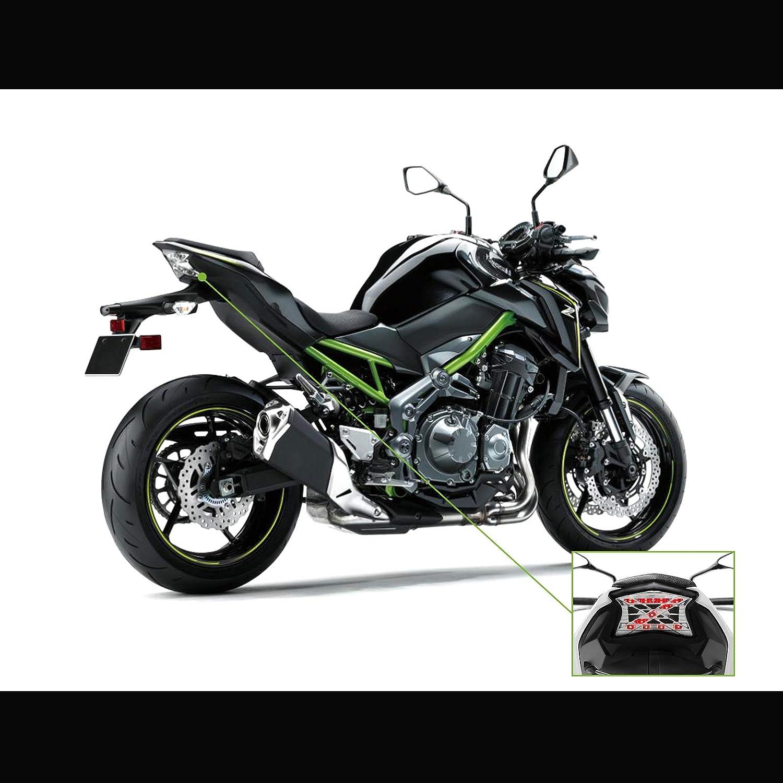 Bsk Z Symbol Integrated Led Tail Light Turn For Kawasaki Z650 Kz650 Colour Wiring Loom Diagrams 2017 2018 17 18 Ninja 650 650r Z900 Abs Smoke Automotive