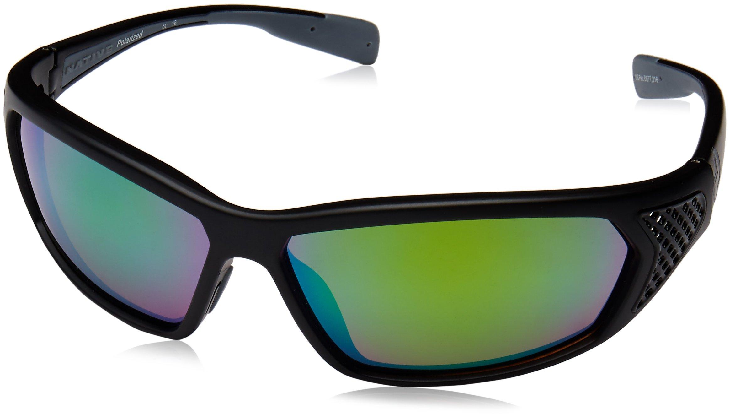 Native Eyewear Andes Polarized Sunglasses, Asphalt/Iron