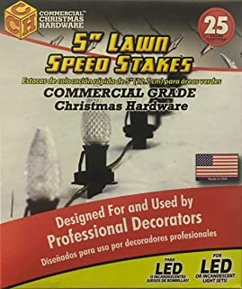 product image for Adams Manufacturing 222550 5 in. Twist Lawn Stake44; 25 Count