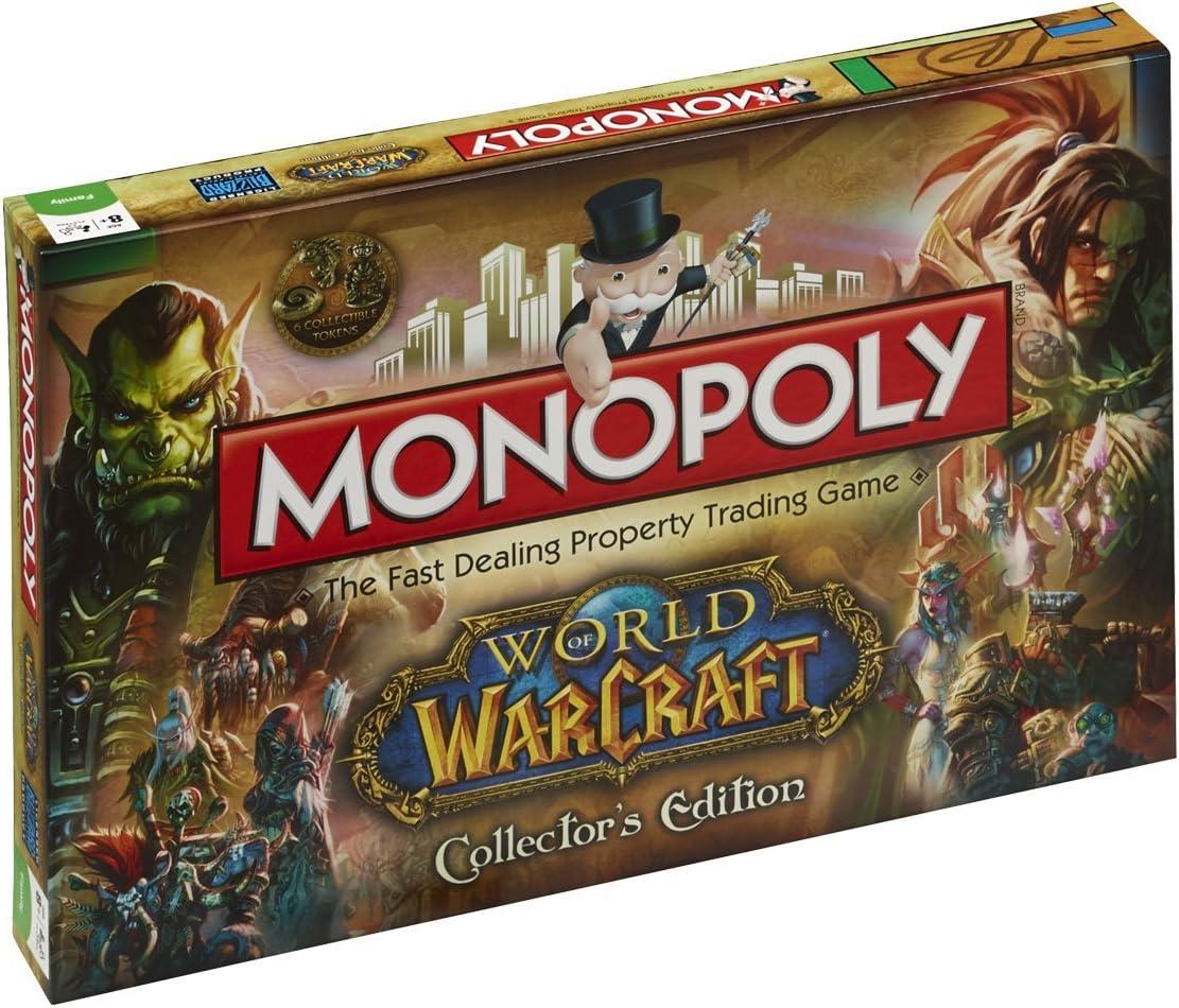 Monopoly World of Warcraft - Juego de Mesa (en inglés): Amazon.es: Juguetes y juegos