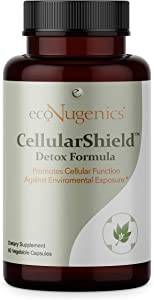 EcoNugenics - Cellular Shield - 60 vcaps | Promotes Cellular Function Against Free Radicals & Oxidative Stress | Enhanced with Premium Medicinal Mushrooms, Adaptogens & Antioxidants