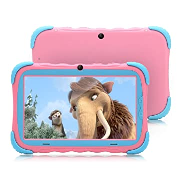 7 Pulgadas Android 7.1 Tablet para niños IPS HD Screen 1GB/16GB Babypad Edition PC