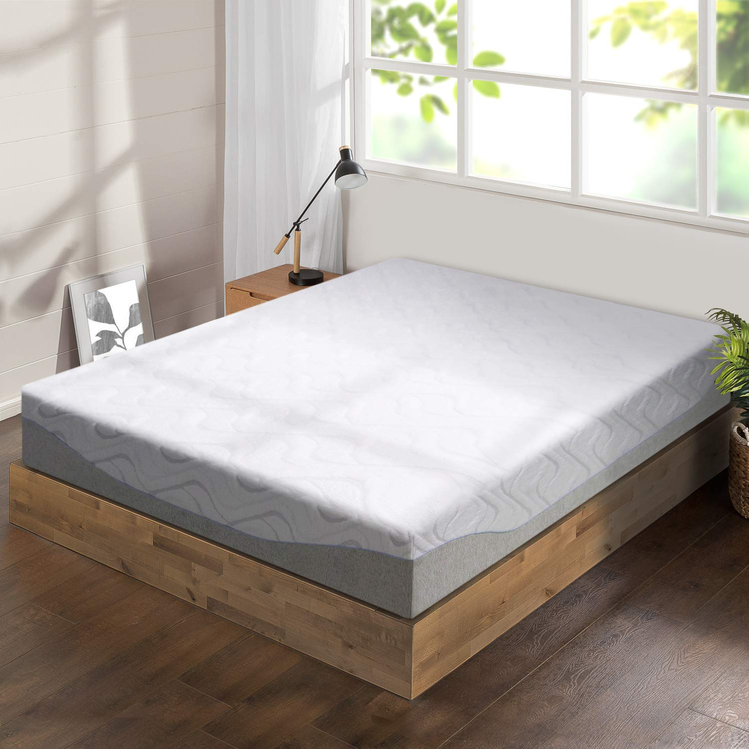 "Best Price Mattress 11"" Gel Infused Memory Foam Mattress, King"