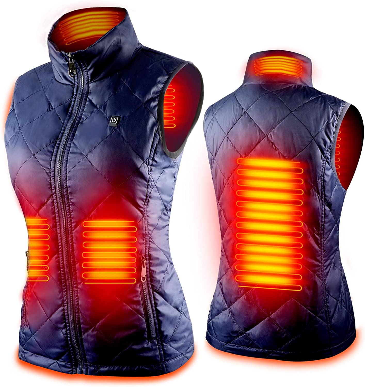 Women's Heated Vest with 3 Heating Levels