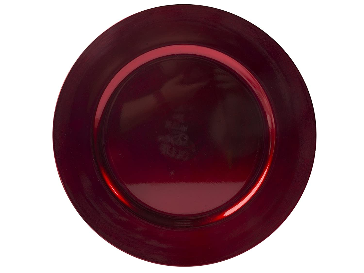 Creative Tops Creative Christmas Red Lacquer Charger Plate, 33 cm (13) 33 cm (13) 5189774
