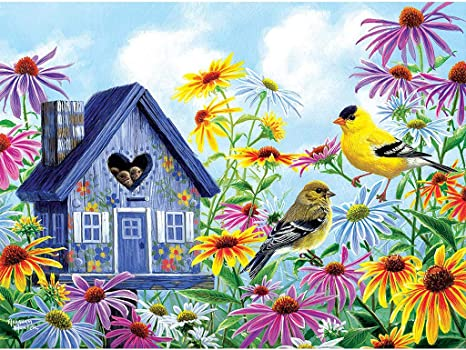 5D DIY Diamond Painting Birds Flowers Cross Stitch Embroidery Kits Home Decor