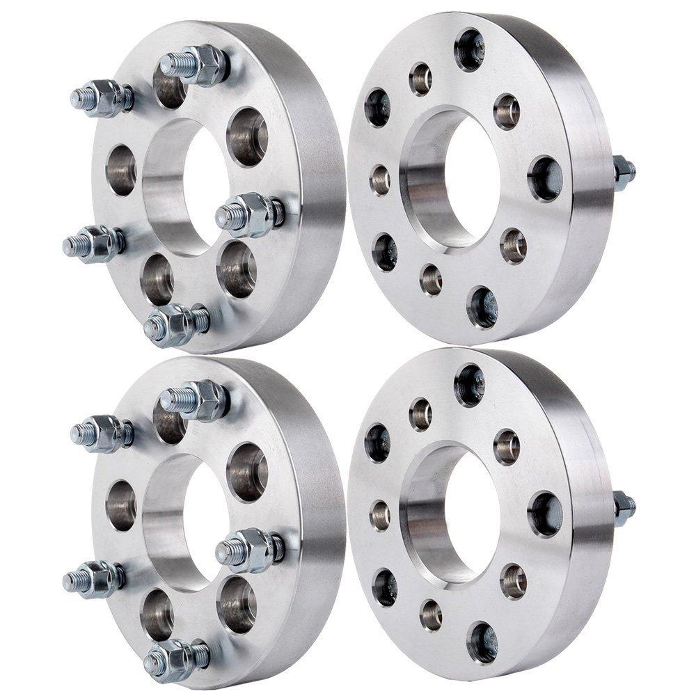 ECCPP 5x5.5 Wheel Spacers 5 lug 1.5' 5x5.5 to 5x5.5 | 5x139.7mm to 5x139.7mm for Ford Bronco E-150 F-100 F-150 Dodge Ram 1500 Van Jeep(1/2' Studs 4x)