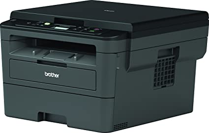 Brother DCPL2530DW - Impresora multifunción láser monocromo Wifi con impresión dúplex, 30 ppm, USB 2.0, Wifi Direct, procesador de 600 MHz, memoria de ...