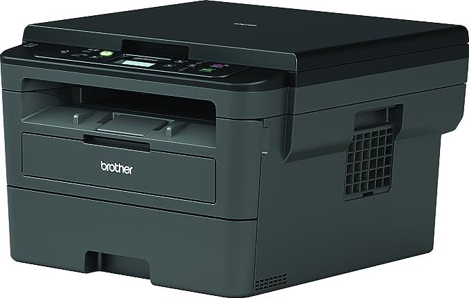 Brother DCPL2530DW - Impresora multifunción láser monocromo Wifi con impresión dúplex + Brother TN-2410 Laser cartridge 1200 páginas Negro tóner y ...
