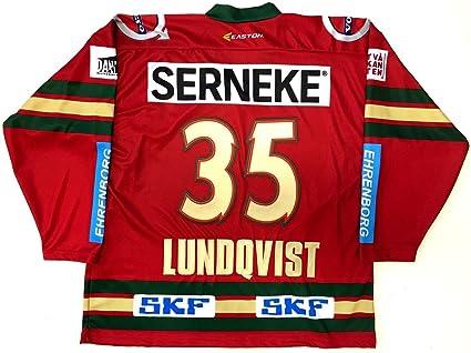 pretty nice b7835 eee08 Henrik Lundqvist Frolunda Indians Easton Sweden Jersey Small ...