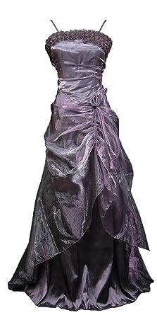 Cherlone Plus Size Purple Long Full Length Formal Prom Ballgown