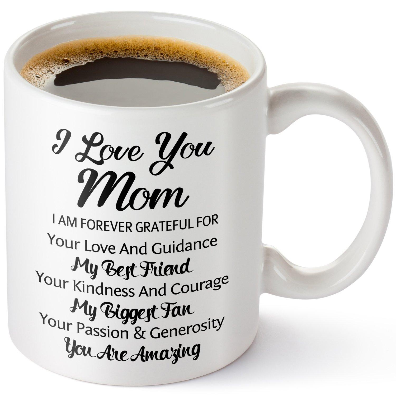 I Love You Mom Coffee Mug,