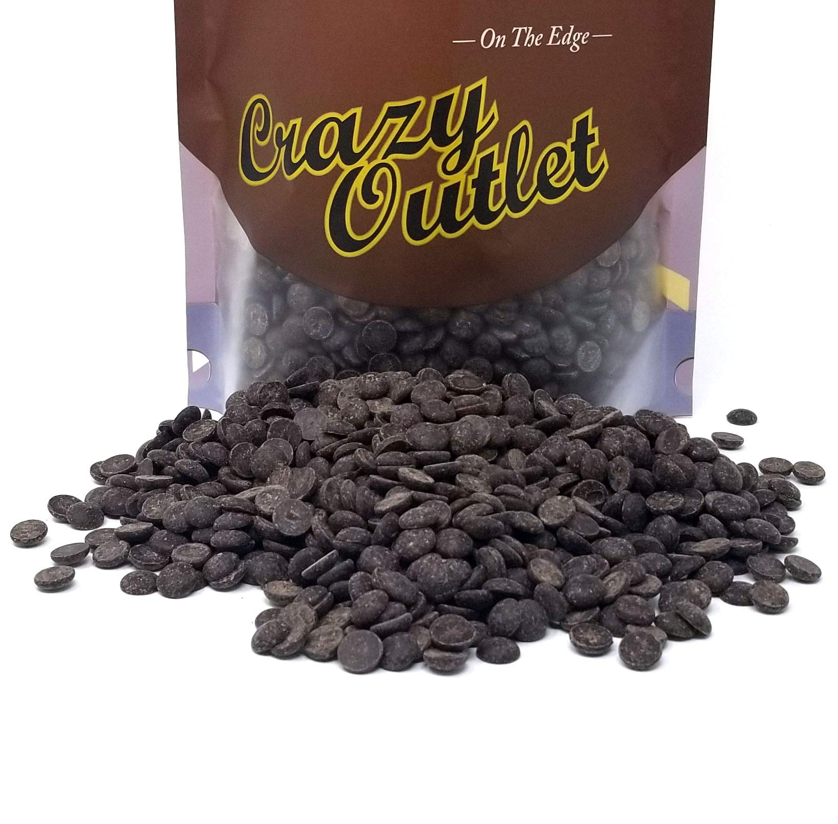 Barry Callebaut Dark Chocolate Wafers Callets, Bittersweet, 70% Cacao, Bulk Pack 2Lbs