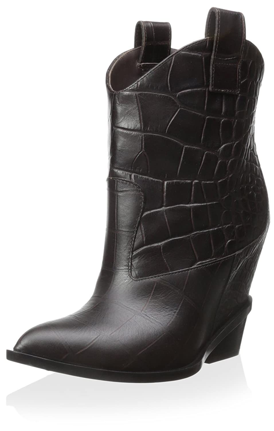 Giuseppe Zanotti Women's Leather Boot B00WQM6YCS 38 M EU/8 M US|Moro