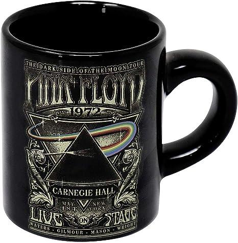 Pink Floyd Black coffee mug