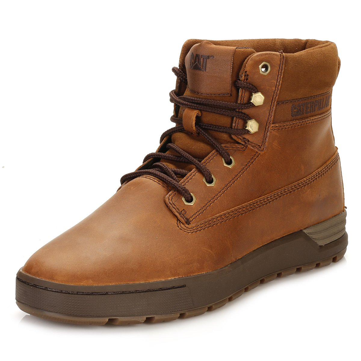 b6953d61b5c Caterpillar Mens Brown Ryker Boots: Amazon.co.uk: Shoes & Bags