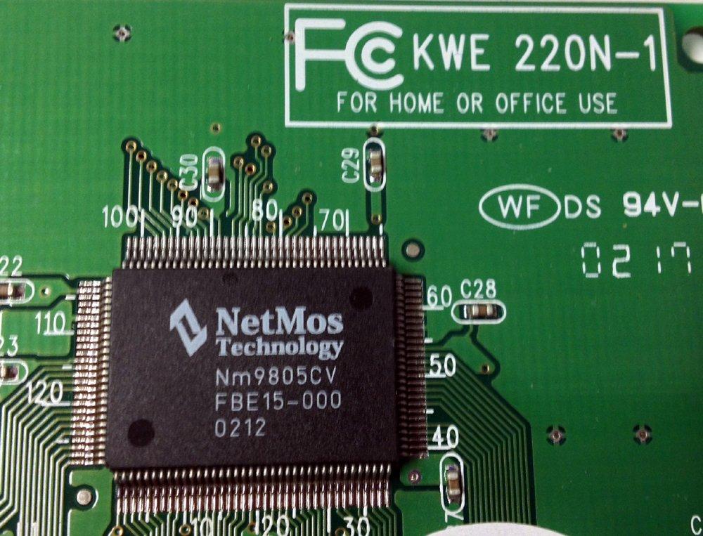 KWE 220N 1 Parallel Port PCI Adapter Amazonca Electronics