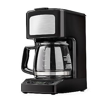 Kenmore Cafetera digital negra de 5 tazas: Amazon.es: Industria ...