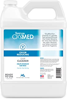 product image for TropiClean OxyMed Ear Cleaner for Pets, 1 gal - Made in USA