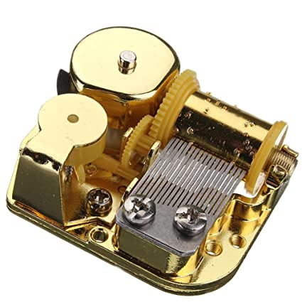 18 nota musical movimiento de mecanismo de bricolaje caja de música, Amazing Grace