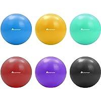 Meteor 20cm Mini Anti-Burst Swiss Ball for Pilates, Yoga, Pelvic Health, Barre, Physio Therapy, Relaxation, Posture…